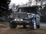 Mercedes-Benz G 350 BlueTec UK-spec (W463) 2010–12 wallpapers