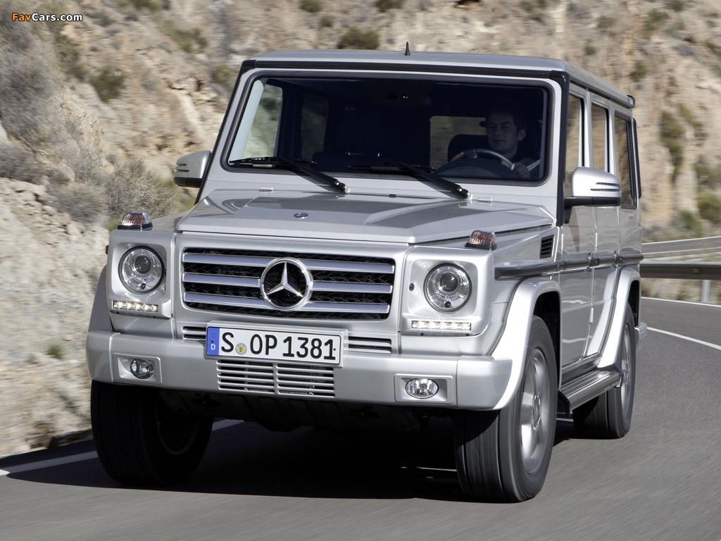 Photos of mercedes benz g 350 bluetec w463 2012 1024x768 for Mercedes benz g 350