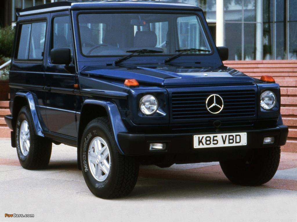Pictures of Mercedes-Benz 300 GE SWB UK-spec (W463) 1990 ...