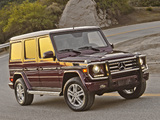 Mercedes-Benz G 550 (W463) 2012 wallpapers