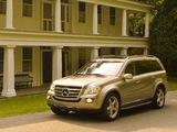 Images of Mercedes-Benz GL 550 US-spec (X164) 2006–09