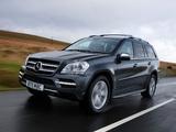 Images of Mercedes-Benz GL 350 CDI UK-spec (X164) 2009–12