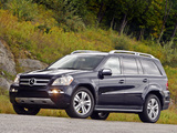 Images of Mercedes-Benz GL 450 US-spec (X164) 2009–12