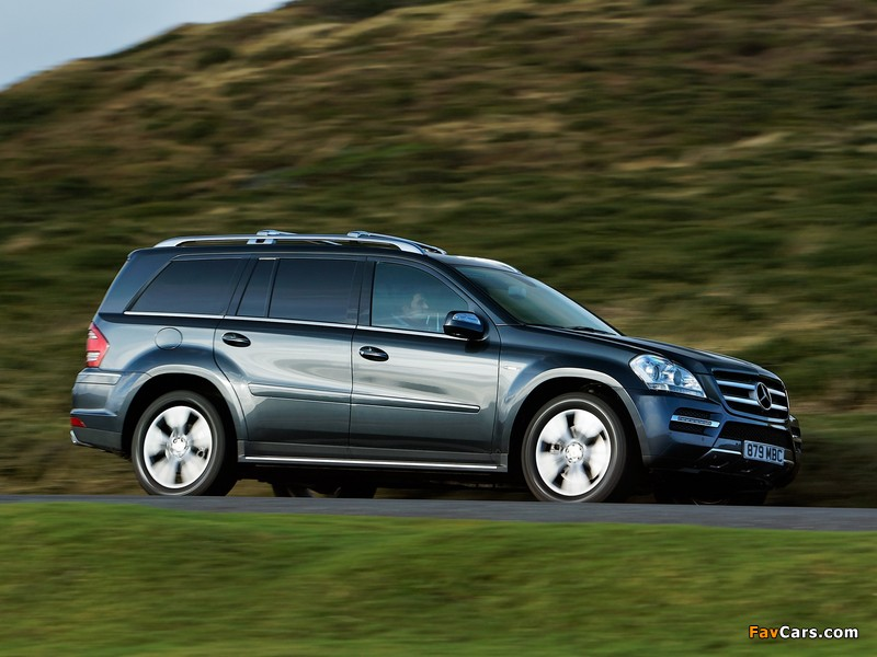 Images of mercedes benz gl 350 cdi uk spec x164 2009 12 for Mercedes benz gl 350 cdi