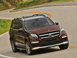 Images of Mercedes-Benz GL 63 AMG US-spec (X166) 2012