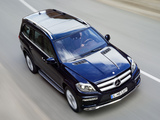 Images of Mercedes-Benz GL 350 BlueTec AMG Sports Package (X166) 2012