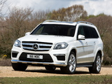 Images of Mercedes-Benz GL 350 BlueTec AMG Sports Package UK-spec (X166) 2013