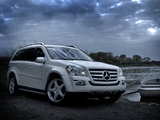 Mercedes-Benz GL 550 US-spec (X164) 2006–09 pictures