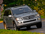 Mercedes-Benz GL 320 US-spec (X164) 2008–09 wallpapers