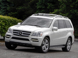 Mercedes-Benz GL 350 BlueTec US-spec (X164) 2009–12 photos