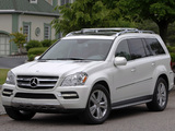 Mercedes-Benz GL 350 BlueTec US-spec (X164) 2009–12 pictures