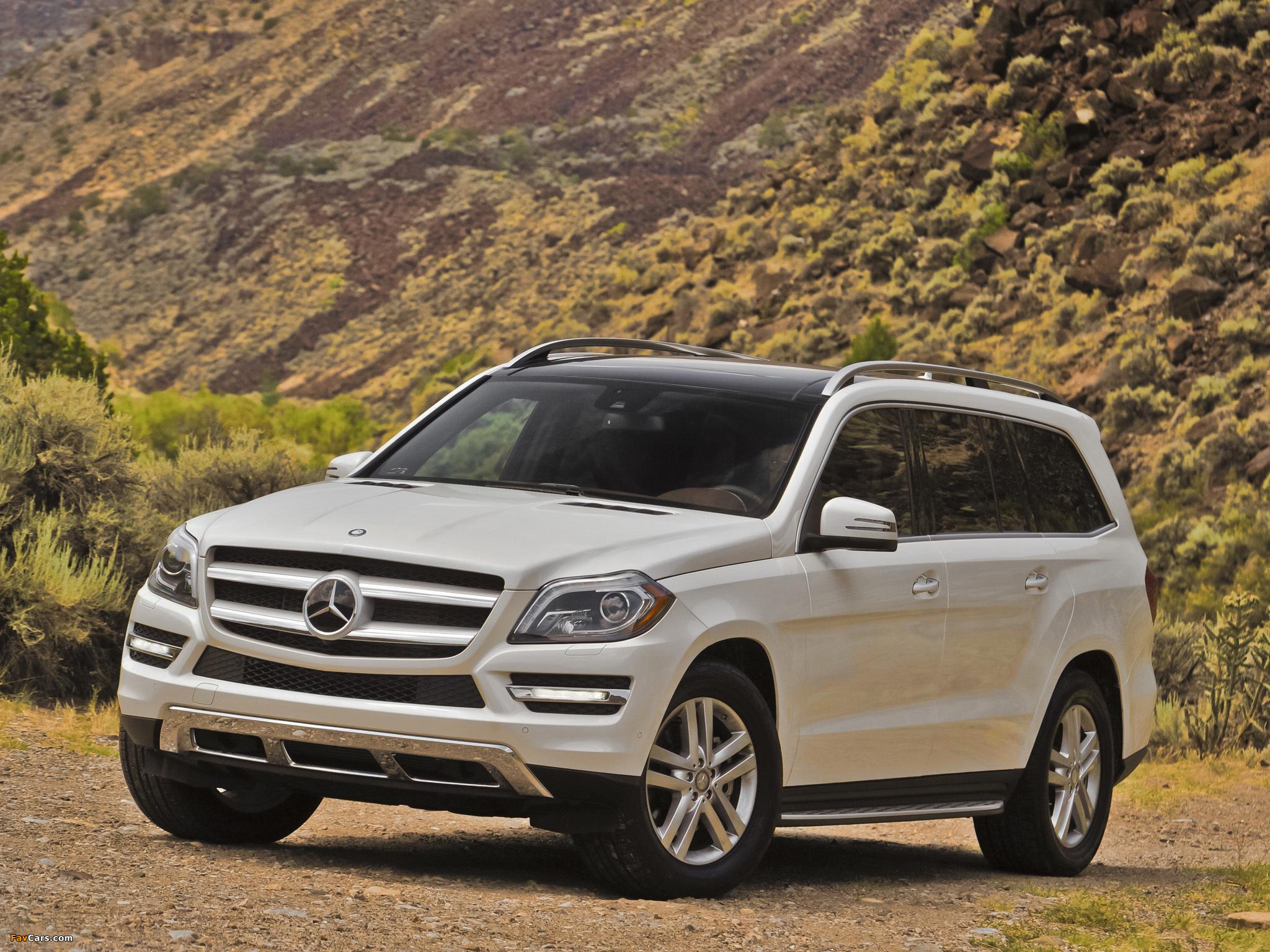 Mercedes benz gl 350 bluetec us spec x166 2012 images for 2012 mercedes benz suv