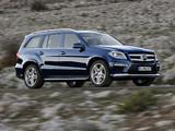 Mercedes-Benz GL 350 BlueTec AMG Sports Package (X166) 2012 photos