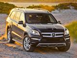 Mercedes-Benz GL 450 US-spec (X166) 2012 pictures
