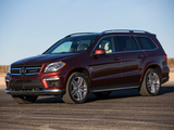 Mercedes-Benz GL 63 AMG US-spec (X166) 2012 wallpapers