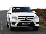 Mercedes-Benz GL 350 BlueTec AMG Sports Package UK-spec (X166) 2013 images