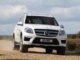 Mercedes-Benz GL 350 BlueTec AMG Sports Package UK-spec (X166) 2013 photos