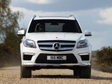 Mercedes-Benz GL 350 BlueTec AMG Sports Package UK-spec (X166) 2013 wallpapers