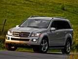 Photos of Mercedes-Benz GL 320 US-spec (X164) 2008–09