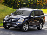 Photos of Mercedes-Benz GL 450 US-spec (X164) 2009–12