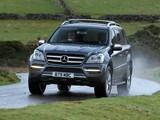 Photos of Mercedes-Benz GL 350 CDI UK-spec (X164) 2009–12