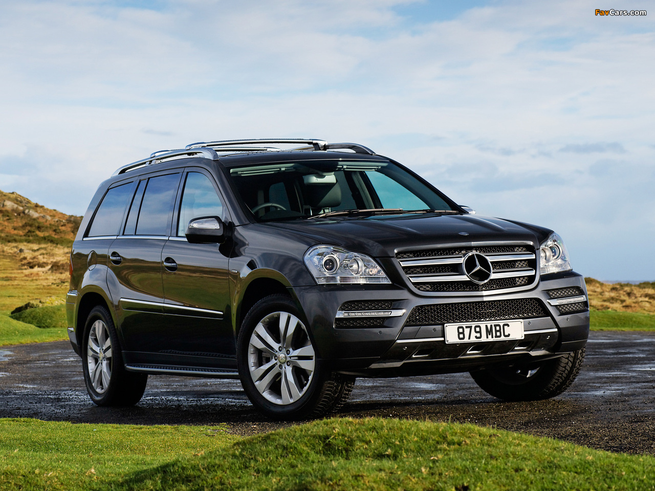 Photos of mercedes benz gl 350 cdi uk spec x164 2009 12 for Mercedes benz gl 350 cdi