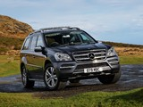 Pictures of Mercedes-Benz GL 350 CDI UK-spec (X164) 2009–12