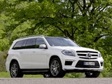 Mercedes-Benz GL 63 AMG (X166) 2012 wallpapers
