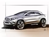Images of Sketch Mercedes-Benz GLA-Klasse 2013