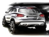 Sketch Mercedes-Benz GLA-Klasse 2013 wallpapers