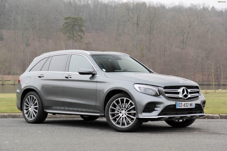 Mercedes-Benz GLC 250 4MATIC AMG Line (X253) 2015 photos (3000 x 2000)