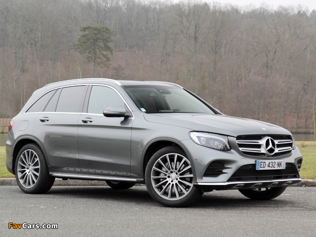 Mercedes-Benz GLC 250 4MATIC AMG Line (X253) 2015 photos (640 x 480)