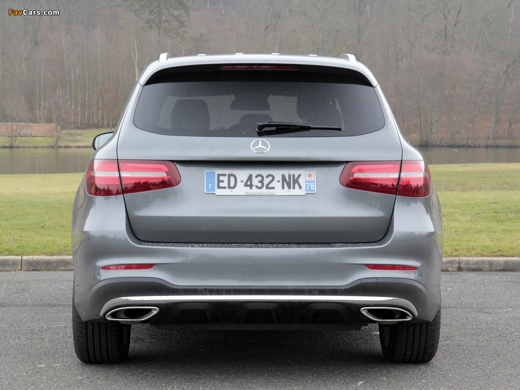 Mercedes-Benz GLC 250 4MATIC AMG Line (X253) 2015 pictures (1024 x 768)