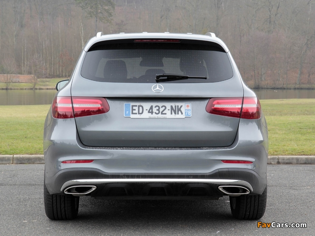 Mercedes-Benz GLC 250 4MATIC AMG Line (X253) 2015 pictures (640 x 480)