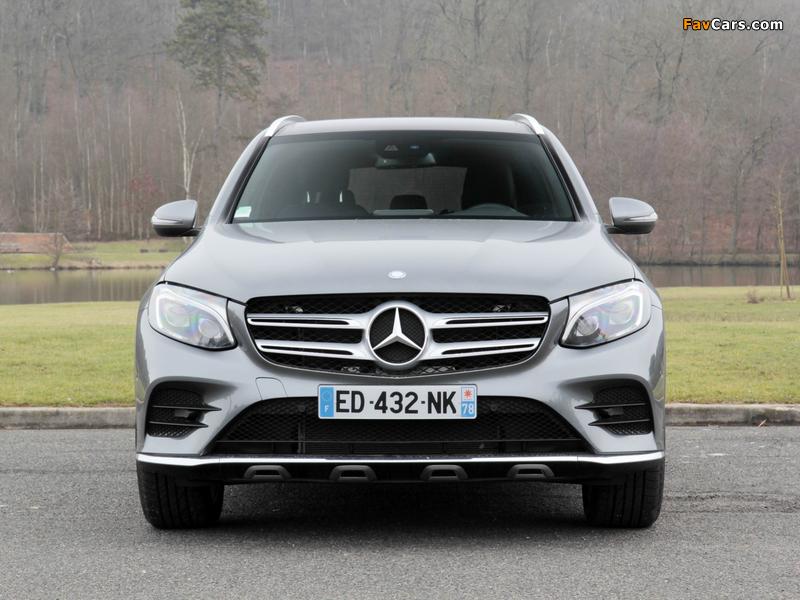 Photos of Mercedes-Benz GLC 250 4MATIC AMG Line (X253) 2015 (800 x 600)