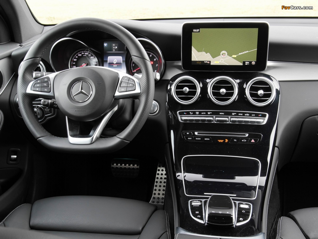 Pictures of Mercedes-Benz GLC 250 4MATIC AMG Line (X253) 2015 (1024 x 768)