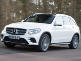 Mercedes-Benz GLC 350 d 4MATIC AMG Line UK-spec (X253) 2016 wallpapers