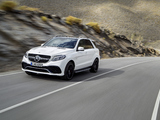 Images of Mercedes-AMG GLE 63 S 4MATIC (W166) 2015