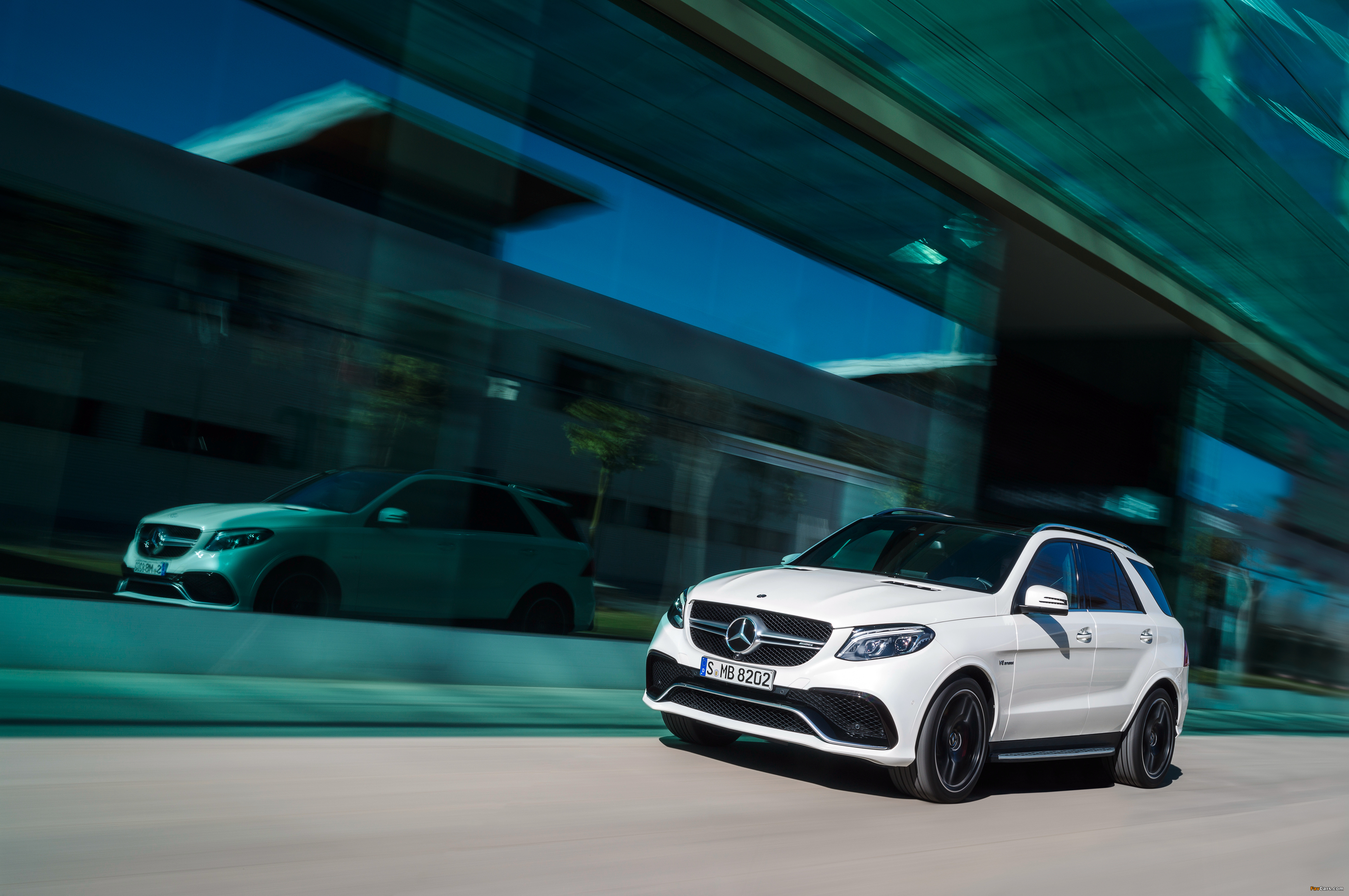 Mercedes-AMG GLE 63 S 4MATIC (W166) 2015 images (4096 x 2722)