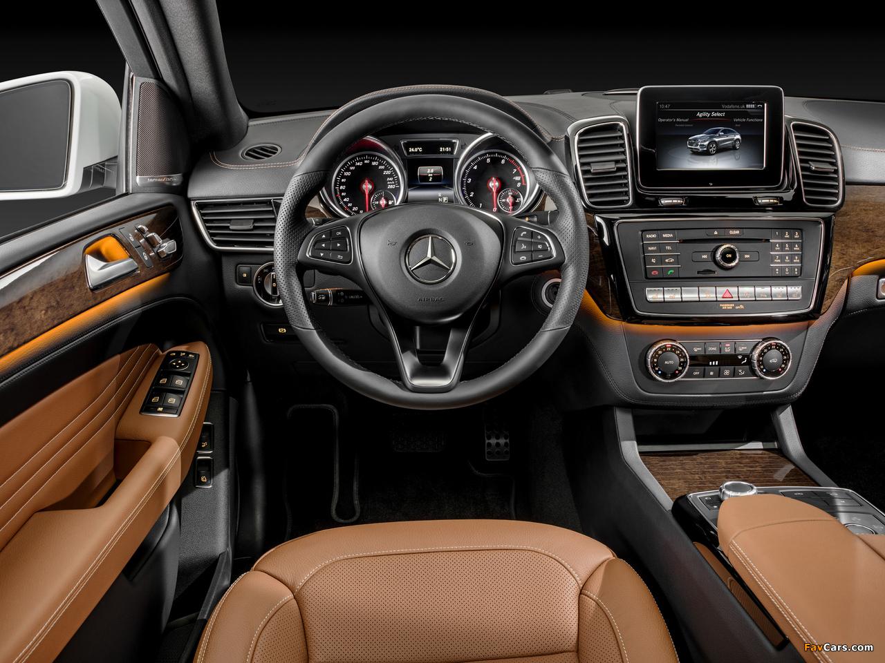 Mercedes-Benz GLE 400 4MATIC Coupé (C292) 2015 images (1280 x 960)