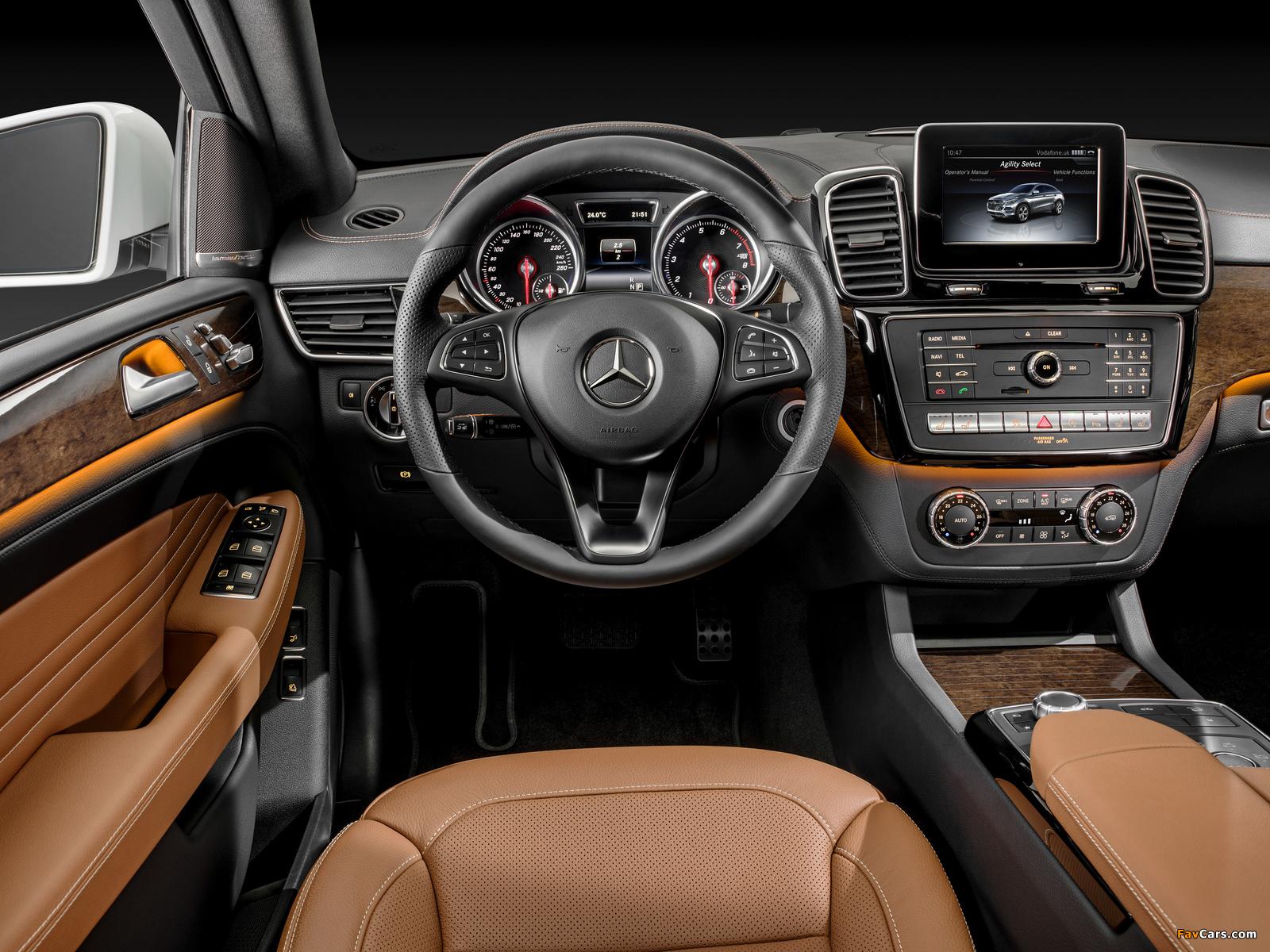 Mercedes-Benz GLE 400 4MATIC Coupé (C292) 2015 images (1600 x 1200)