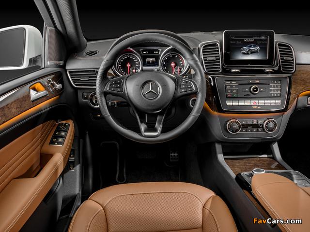 Mercedes-Benz GLE 400 4MATIC Coupé (C292) 2015 images (640 x 480)