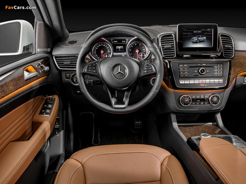 Mercedes-Benz GLE 400 4MATIC Coupé (C292) 2015 images (800 x 600)