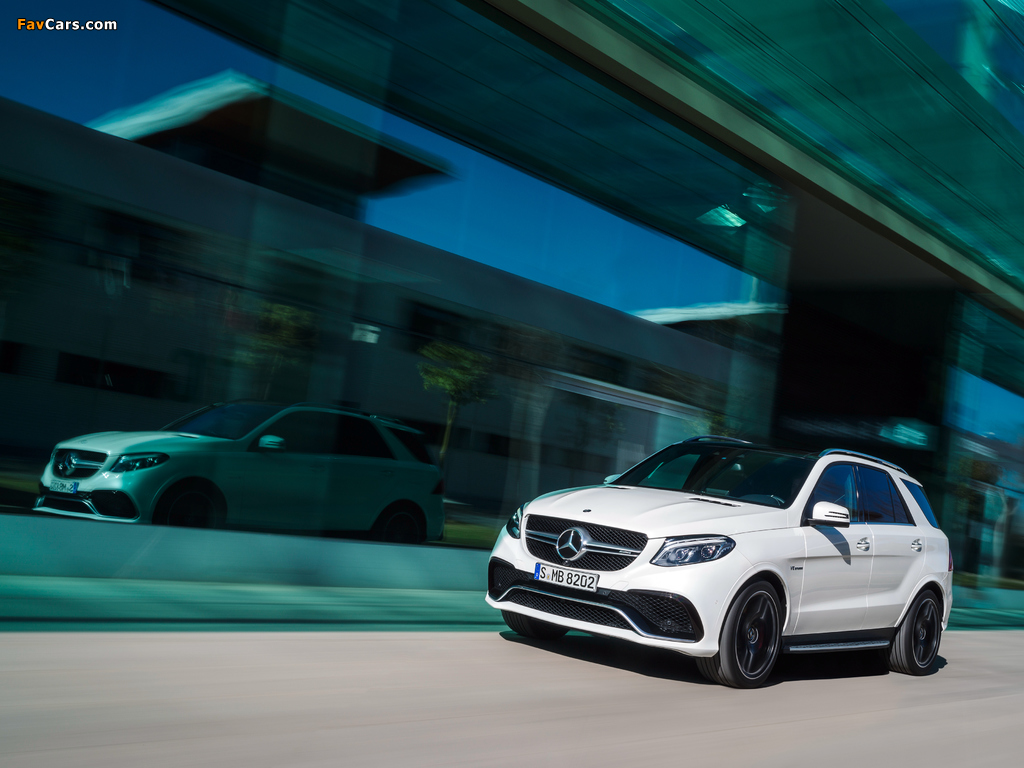 Mercedes-AMG GLE 63 S 4MATIC (W166) 2015 images (1024 x 768)