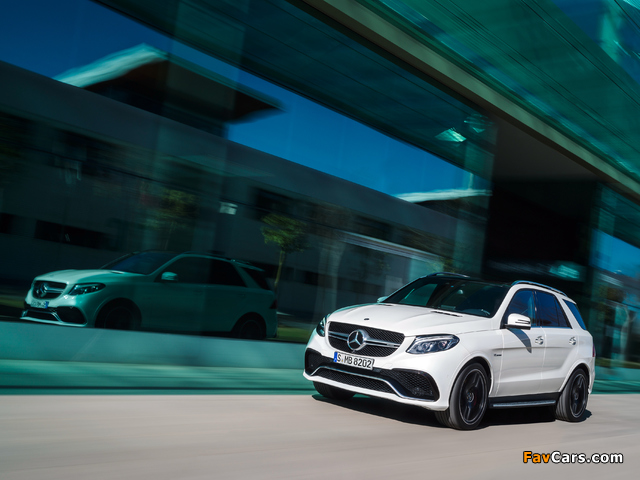 Mercedes-AMG GLE 63 S 4MATIC (W166) 2015 images (640 x 480)