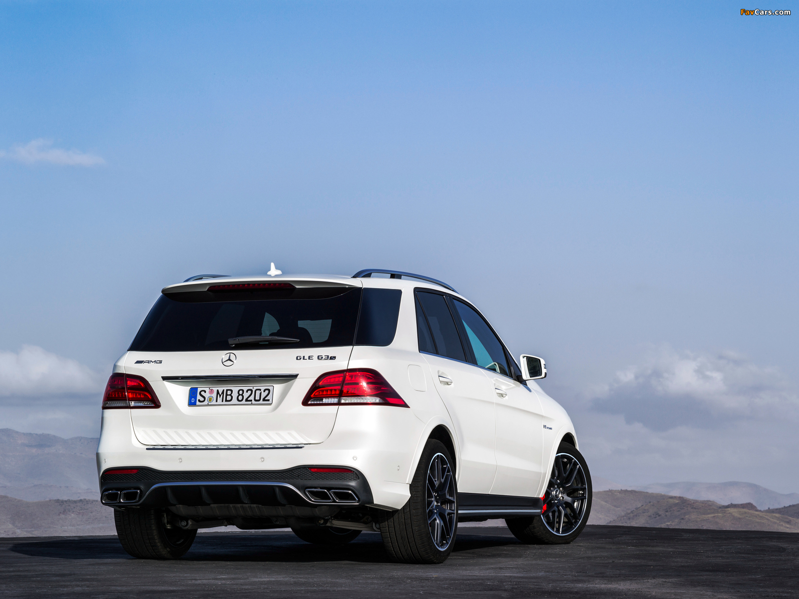 Mercedes-AMG GLE 63 S 4MATIC (W166) 2015 images (1600 x 1200)