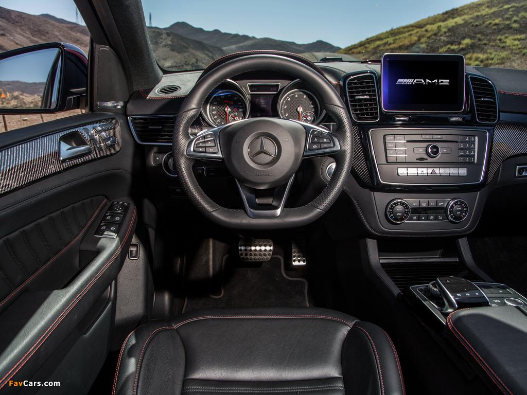Mercedes-Benz GLE 450 AMG 4MATIC Coupé US-spec 2015 photos (1024 x 768)