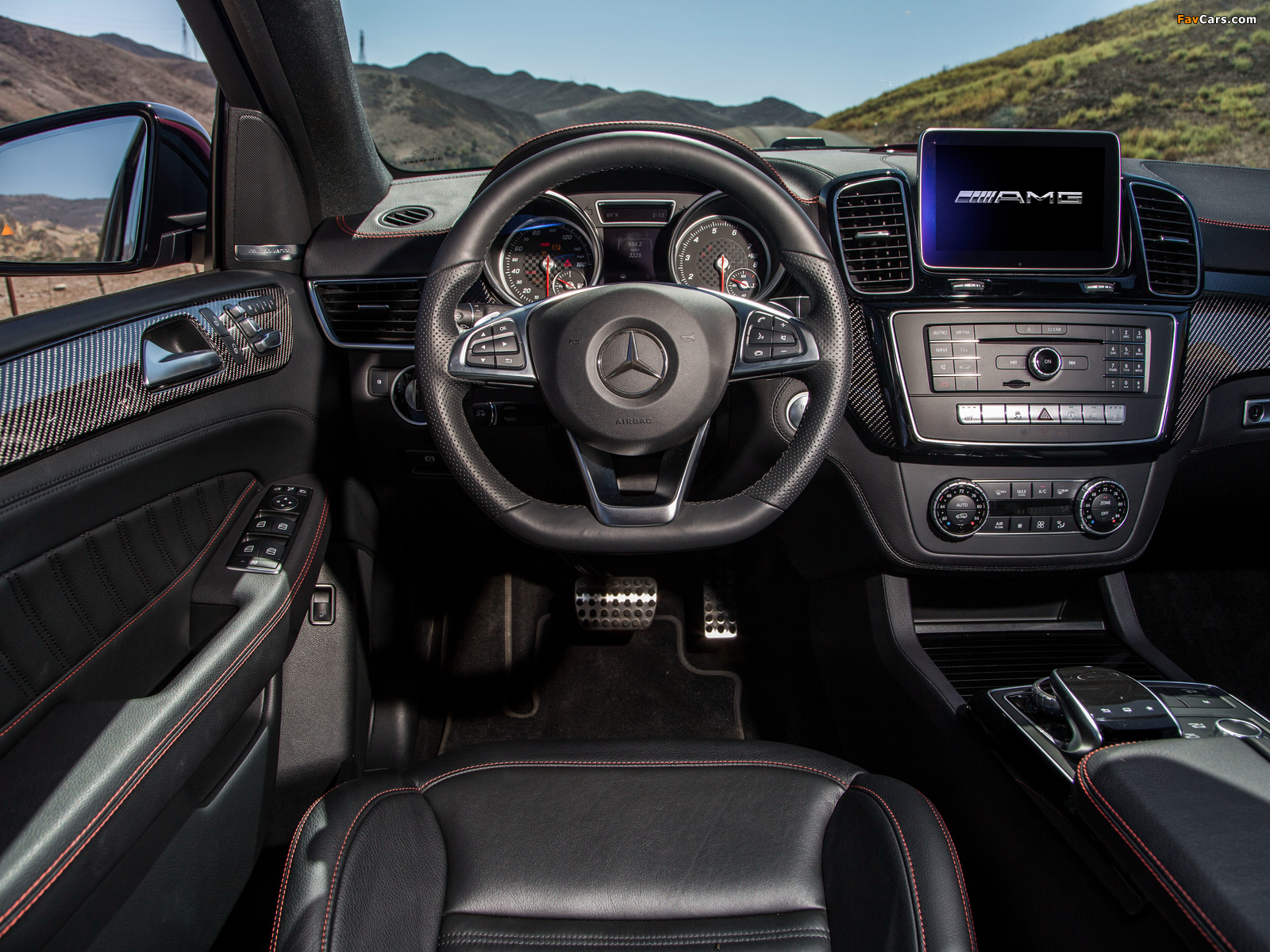 Mercedes-Benz GLE 450 AMG 4MATIC Coupé US-spec 2015 photos (1600 x 1200)
