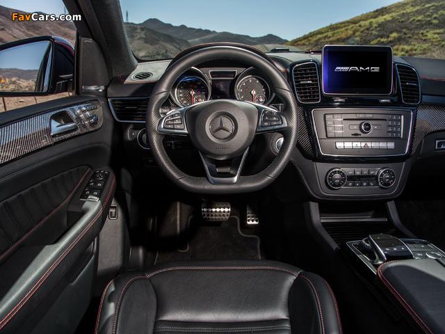 Mercedes-Benz GLE 450 AMG 4MATIC Coupé US-spec 2015 photos (640 x 480)