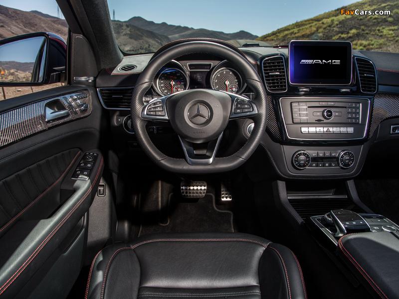 Mercedes-Benz GLE 450 AMG 4MATIC Coupé US-spec 2015 photos (800 x 600)